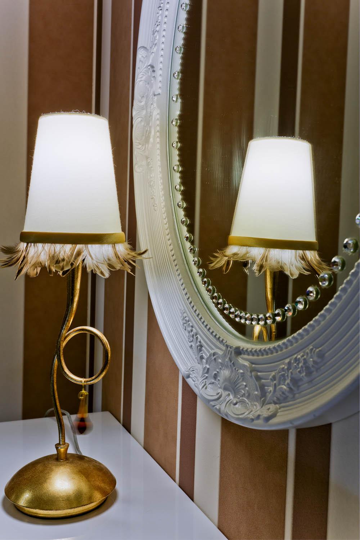 Дизайн интерьера спальни в неоклассике