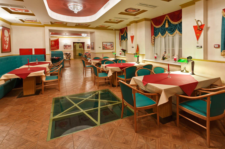 Дизайн интерьера пивного ресторана в советской стилистике