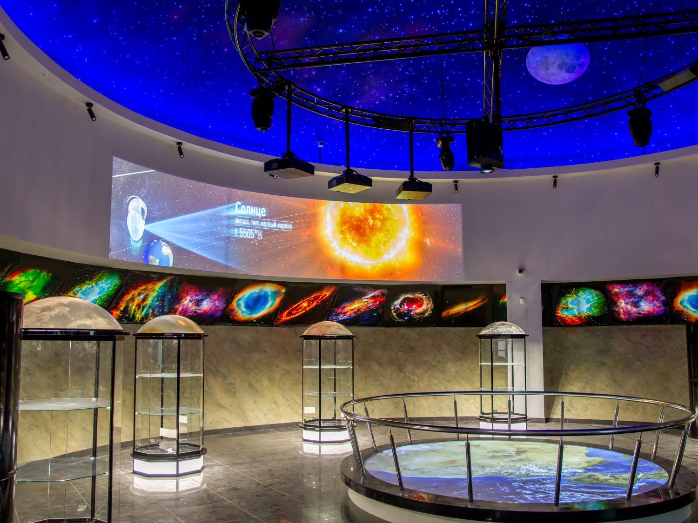 Дизайн интерьера космического центра