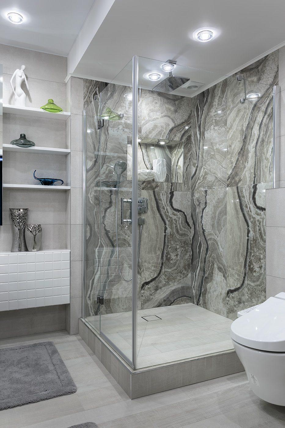Дизайн ванной комнаты в небольшой квартире