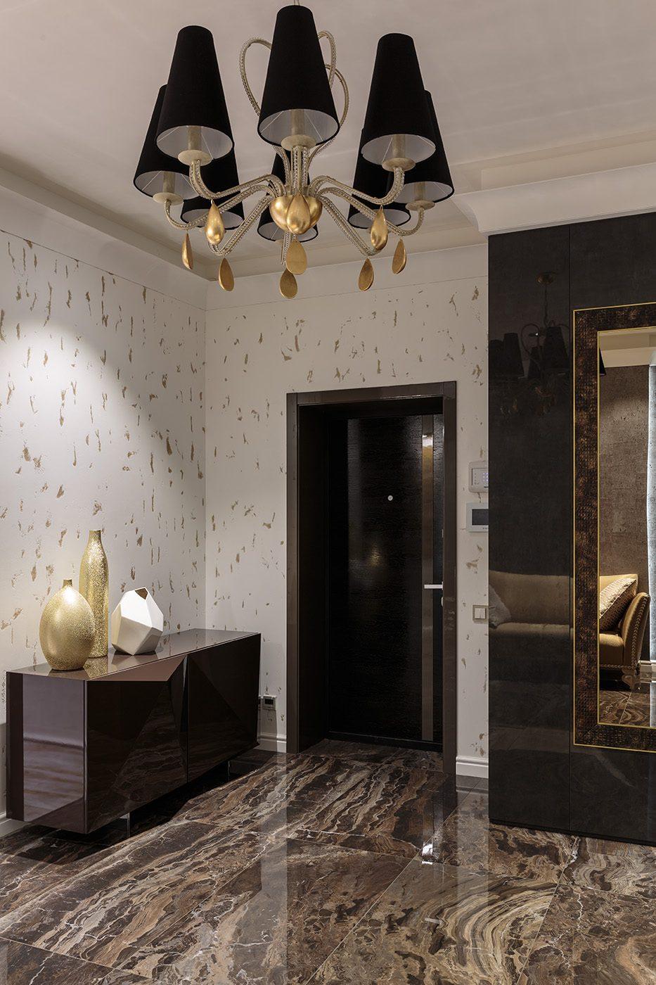 Дизайнерская мебель в прихожей квартиры