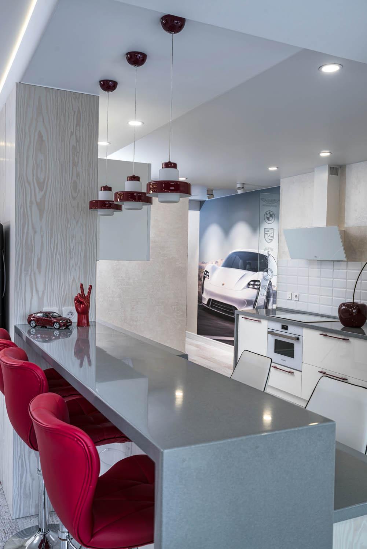 Дизайн интерьера кухни в небольшой квартире