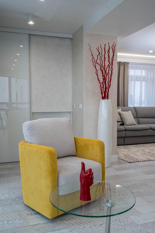 Дизайн интерьера зоны отдыха в небольшой квартире