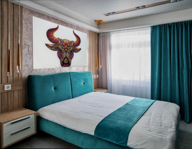 Дизайн интерьера спальни в небольшой квартире